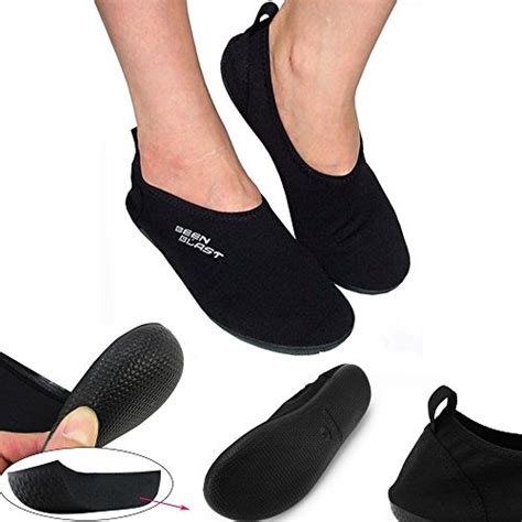 work out shoes for flat shusox barefoot water shoes cushion slipper slip on