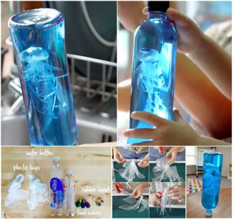 water bottle crafts projects how to make craft jellyfish in a bottle how to