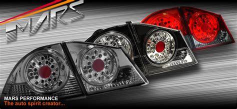 Headl Civic Fd 06 11 Projector Led Black Merk Eagle jdm smoked led lights honda civic sedan 06 11 fd1 fd2