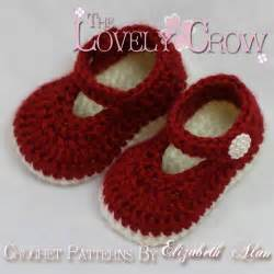 Free crochet patterns to print thelovelycrow crochet baby booties