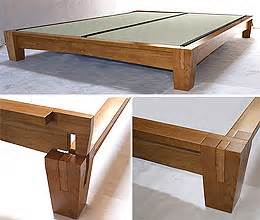 Platform Bed Frame Japanese Platform Beds Low Platform Beds Japanese Solid Wood Bed