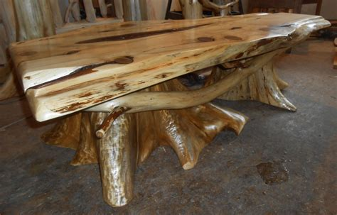 Stump Coffee Table Make A Stump Coffee Table Home Ideas Collection