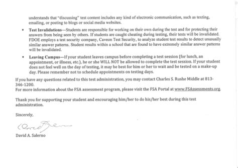 lettere salerno salerno letter pg 2 charles s rushe middle school