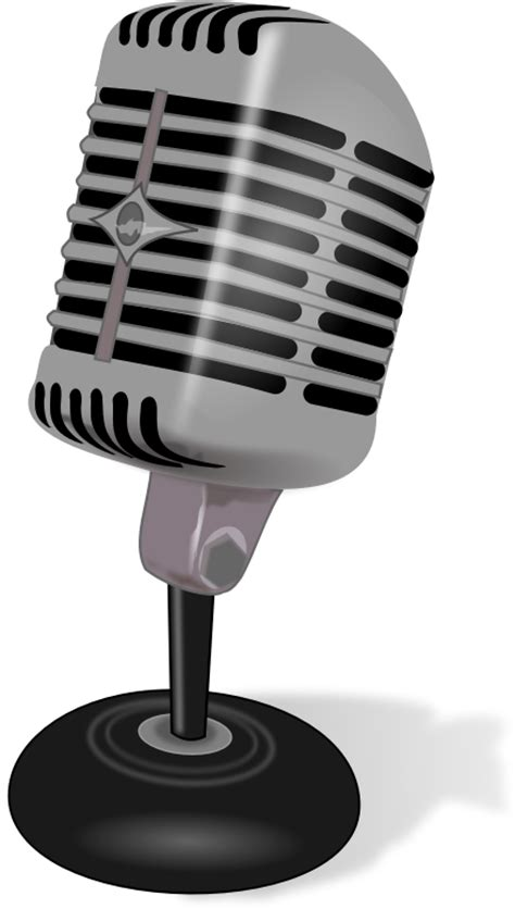 microphone clipart free microphone clip