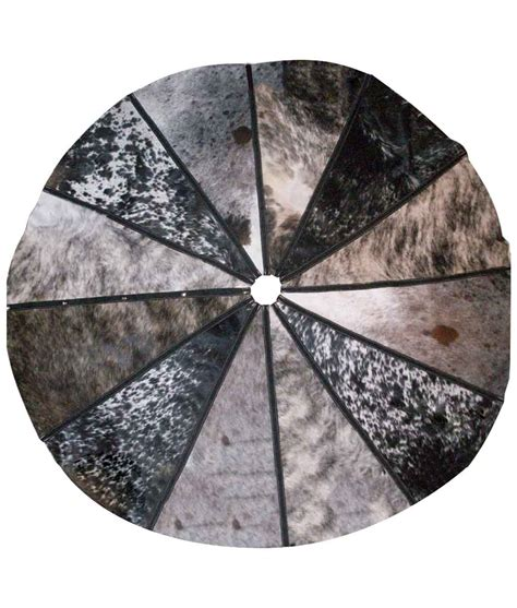 Cowhide Tree Skirt cowhide tree skirt large