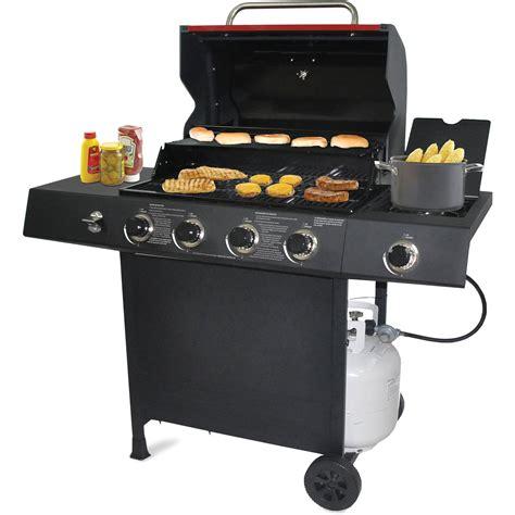 backyard gas 4 burner grill grill with side burner grills