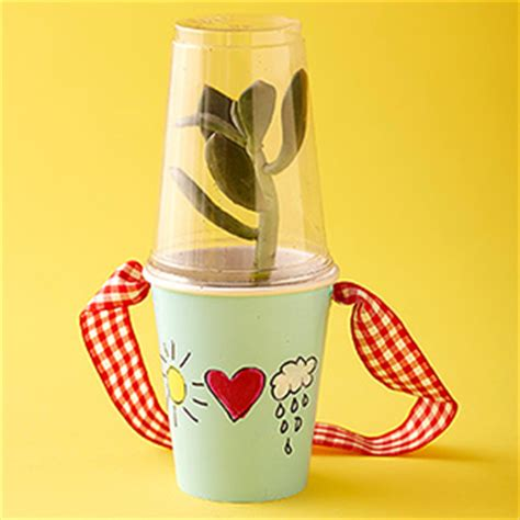 Craft Using Paper Cups - paper cup terrarium family crafts