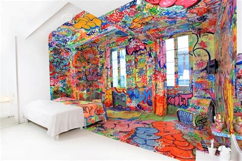panic room bedroom design that illustrates both