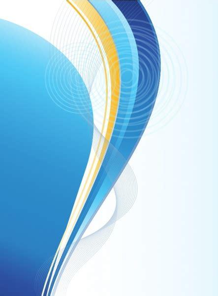 wallpaper orange biru abstract background free vector in adobe illustrator ai