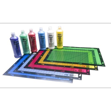 Craft Mats coloured craft mats pack of 5 in assorted colours