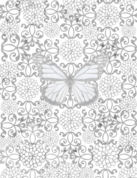colors free printables no you need to calm down free printable adult coloring page blossoming butterfly