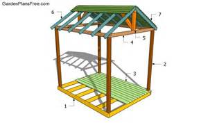 Outdoor Shelter Plans by Wood Working Idea This Is Diy Cedar Outdoor Table
