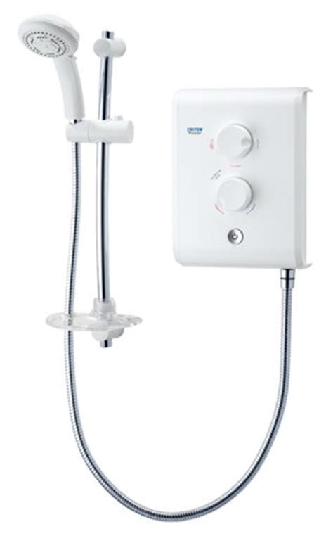 triton t80z fast fit 7 5kw electric shower white and