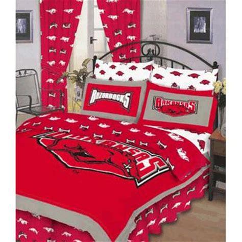 Razorback Crib Bedding by Arkansas Razorbacks 100 Cotton Sateen Bed In A Bag