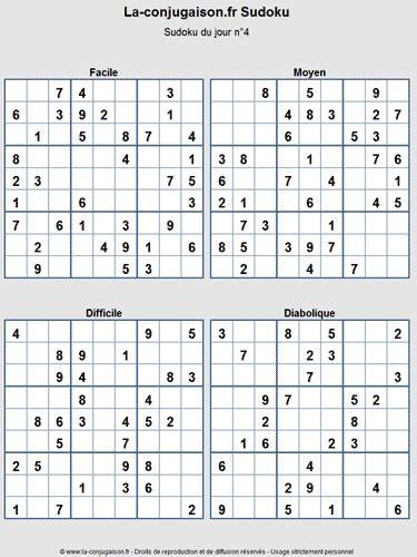Grille De Sudoku Facile à Imprimer by Sudoku Grile Du Jour 224 Imprimer