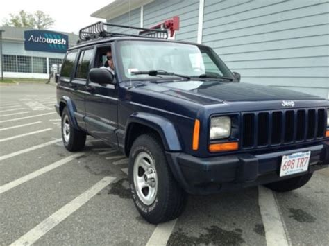 electronic toll collection 1996 jeep cherokee parking system buy used 2000 jeep cherokee sport auto 4x4 patriot blue pearl in mansfield massachusetts