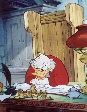 Scrooge Mcduck Carol - is stinginess a disease megan s