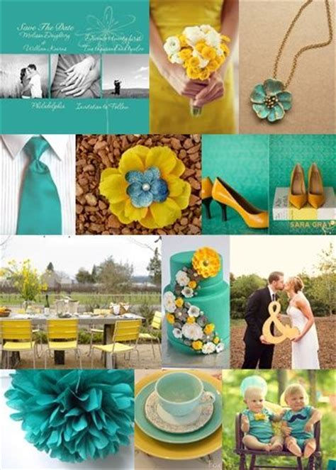 1000  images about wedding decor   blue yellow white on