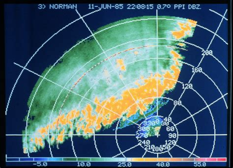 local radar weather map plan position indicator