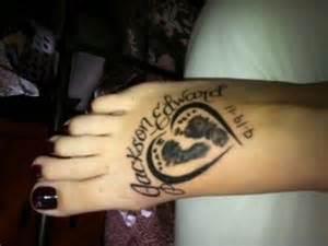 30 cute baby footprint tattoos hative