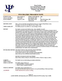 psychiatrist report template 1000 images about progress notes on notes
