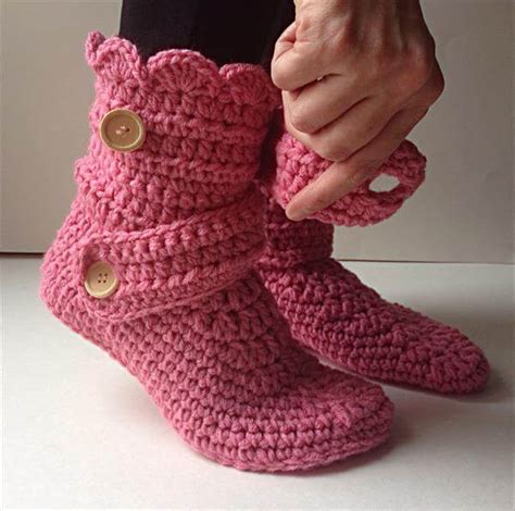 slipper pattern crochet s crochet pink slippers 101 crochet
