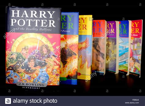 7 Reasons Harry Potter Books by All 7 Of J K Rowling S Harry Potter Book Series