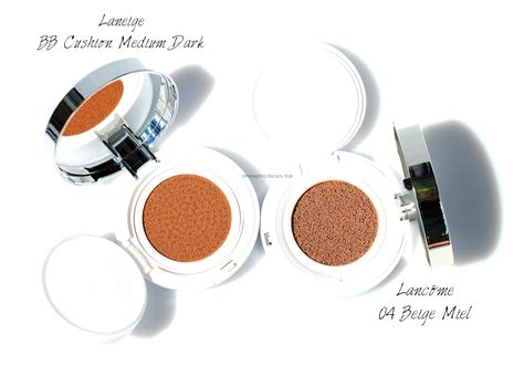 Lancome Bb Cushion lanc 244 me miracle cushion ommorphia bar