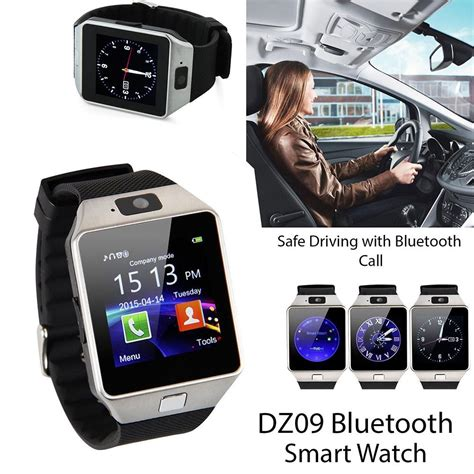 Smart U9 Dz09 Black List Black 2 bluetooth smart dz09 sim for android ios