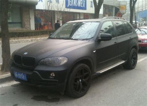 matte black x4 bmw spotted in china matte black bmw x5 carnewschina