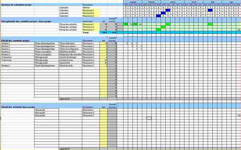 5 excel project schedule template ganttchart template