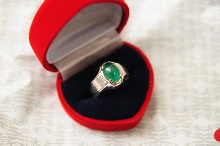 Harga 1 Pcs Cincin Single Ring Silver Gold Emas Wanita Titanium zamrud cincin zamrud colombia z42 rm 1300