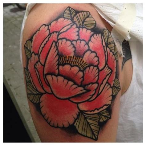 tattoo new school flower shoulder new school flower tattoo by zoi tattoo