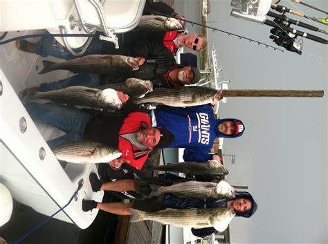 striper charter boats striped bass fishing raritan bay nj bill chaser sandy