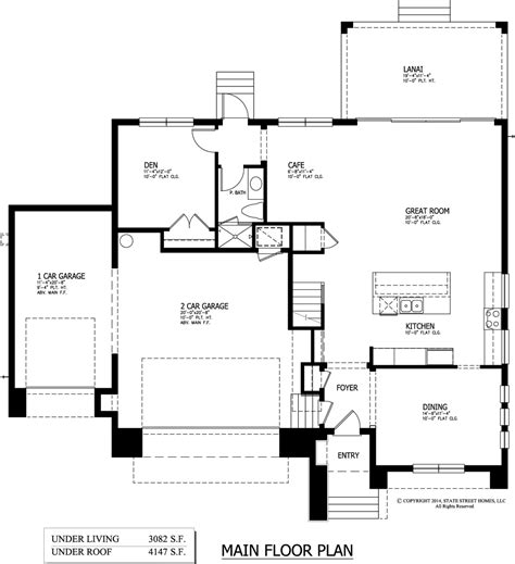 main floor plans omar sold state street homes