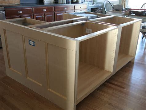 how to a kitchen island with cabinets ikea hack how we built our kitchen island jeanne