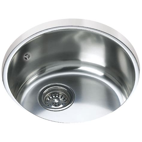 round kitchen sink teka be 039 stainless steel 1 0 bowl round undermount sink