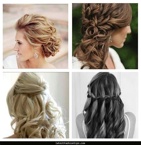 hairstyles to do self hair ideas for a bridesmaid latestfashiontips com