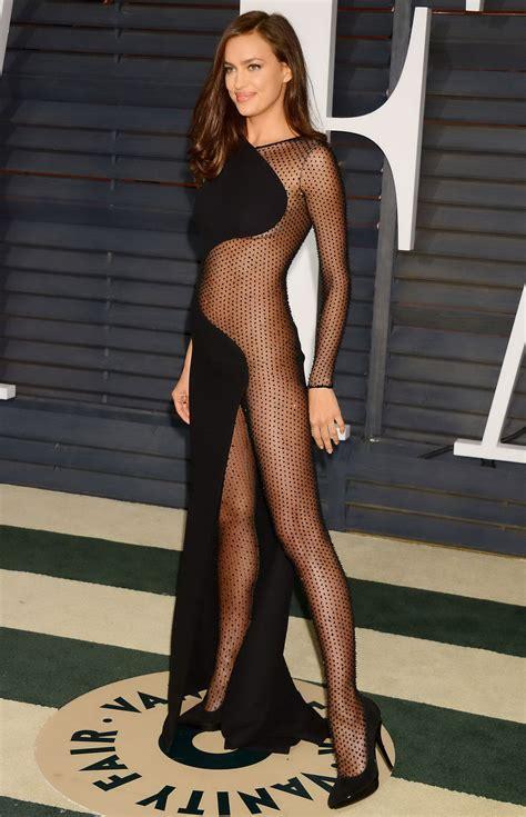 Best Vanity Irina Shayk Braless And Pantyless Wearing Side See Through