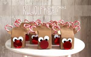 rudolph christmas class gifts the paper caper