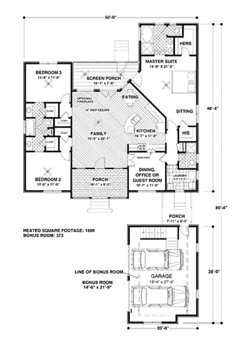 southern style house plans 1800 square foot home 1 southern style house plan 4 beds 3 baths 1800 sq ft plan