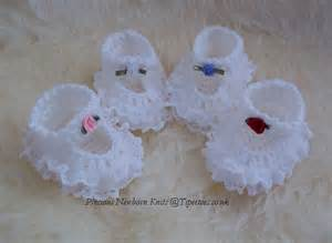 These adoranle handmade lacy baby shoes booties make great gifts for