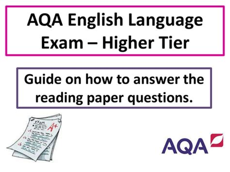 aqa gcse english language 0198359195 vfuller123 profile tes