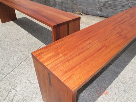 wide benches hand crafted wide span benches seating for 4 for 1 4 of