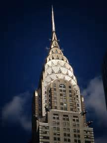 Pictures Of The Chrysler Building The Chrysler Building S Crown Illuminated By The Ny