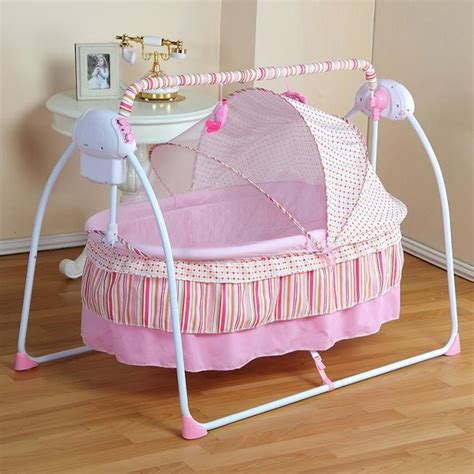 baby electric swing bed fashion electric baby crib baby cradle electric baby