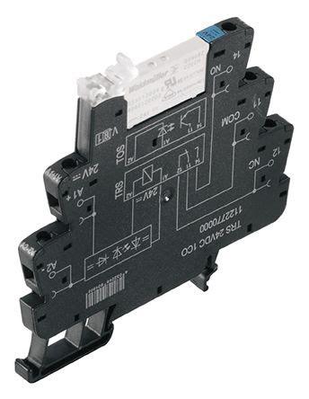 Relay Weidmuller 1122770000 spdt din rail interface relay module