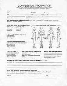 Spa Client Intake Form Template by Sle Therapist Intake Form Website Of Majamyth