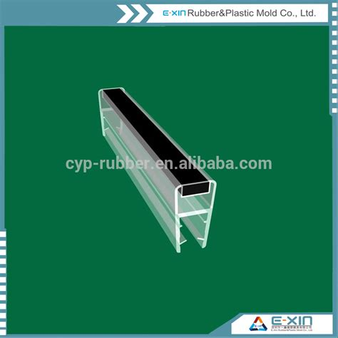 porte en verre joint imperm 233 able 224 l eau transparente pvc