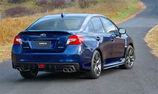 Subaru Impreza Wrx Sti 2016 2016 Subaru Wrx Wrx Sti Pricing And Specifications